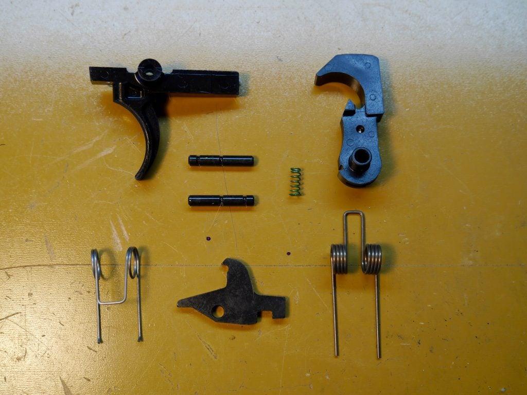 AR-15 Trigger Assembly Parts