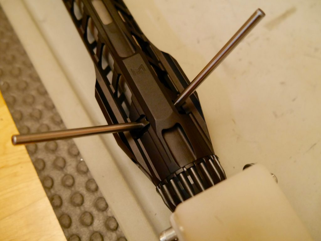 Install Rainier Handguard with Rods