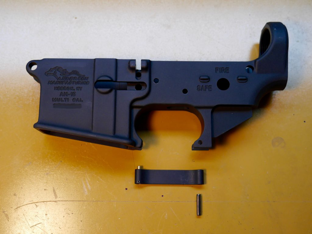 Trigger Guard Assembly Parts