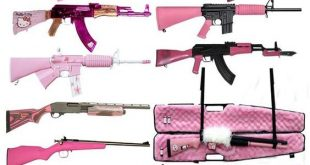 Bunch of Pink Guns