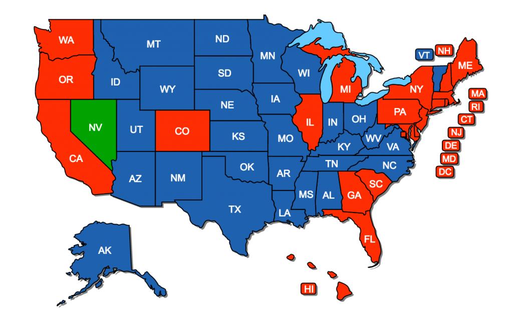 Nevada Non-Resident Reciprocity, USA Carry