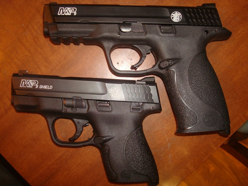 Shield vs Full Size 9mm, XD Talk