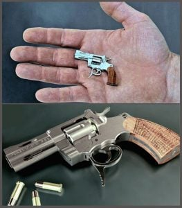 World's Smallest Gun, Washington Times
