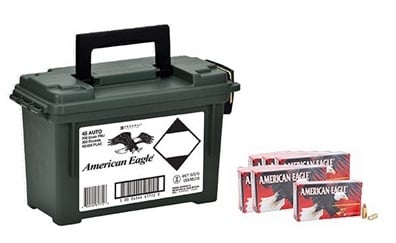 American Eagle .45 ACP and Ammo Box