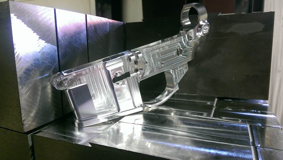 Billet Lower Receiver, Hunter Rifleworks