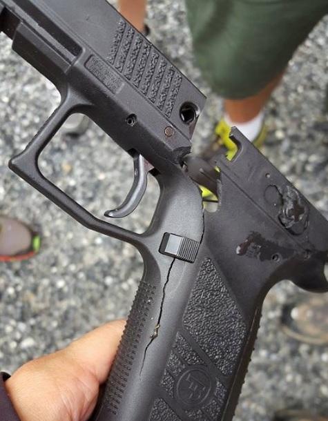 Blown Up Gun