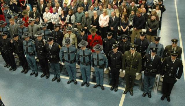 MCJA Graduation, Maine DPS