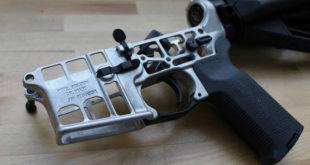 Skeletonized AR-15 Lower