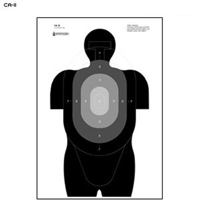 Center Mass Target