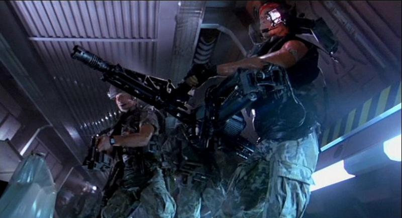 M56 Smartgun, Aliens
