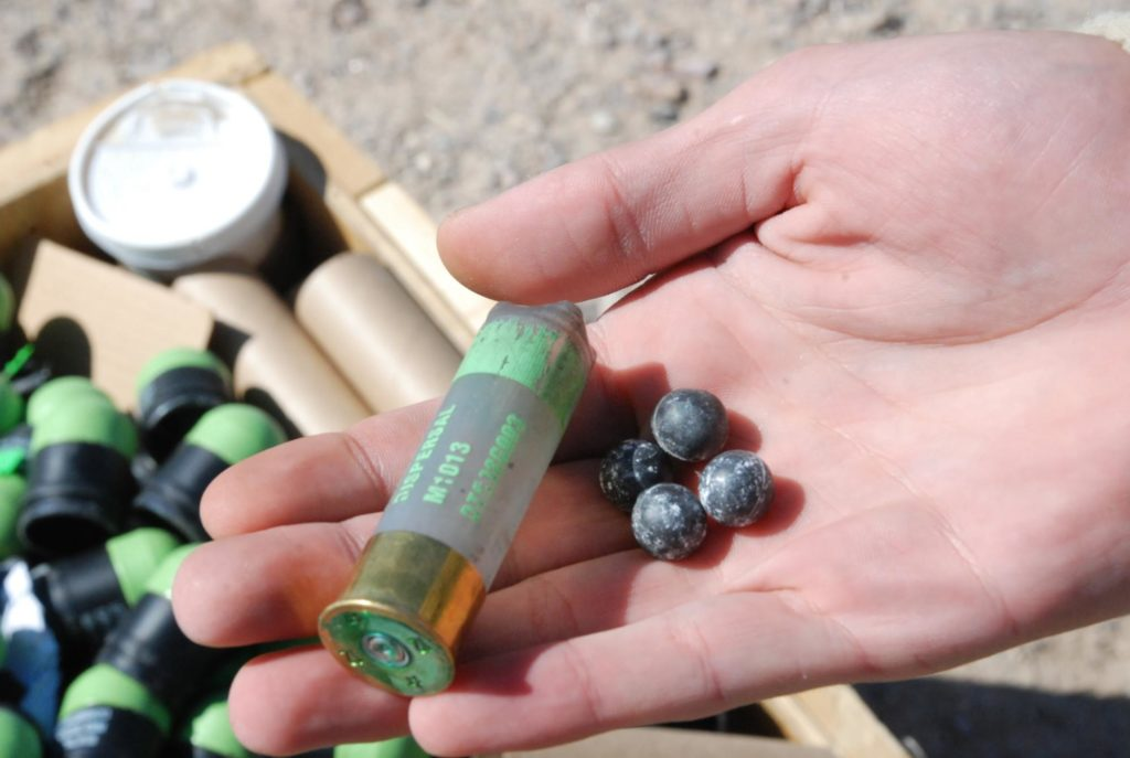 Non-Lethal Shotgun Rounds
