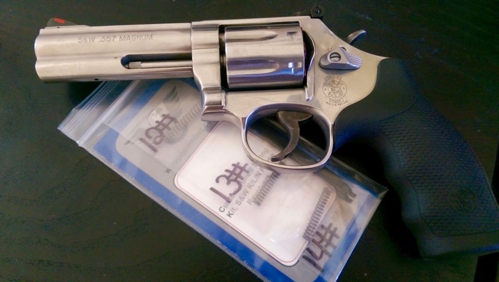 S&W 686 with Wilson Spring Kit