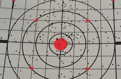 7.5 Birdshot at 10 Yards