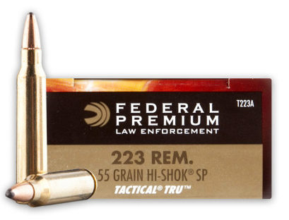 Federal LE Hi-Shok 55 gr 500 Rounds