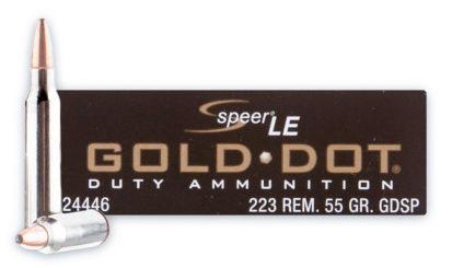 Speer Gold Dot Duty .223 55 gr