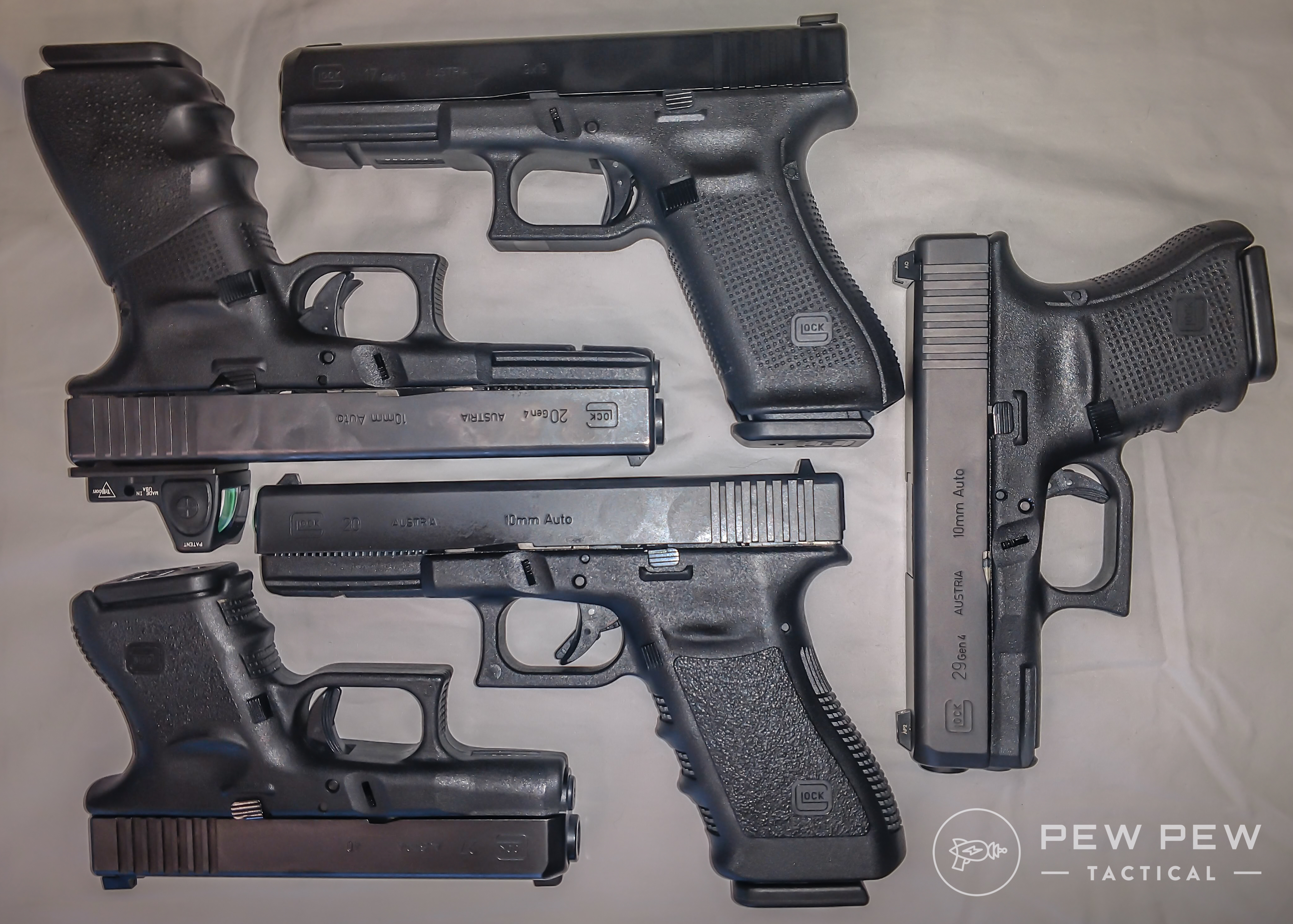 There are a ton of Glocks on the market, each offering different benefits. Try a variety before you choose just one.