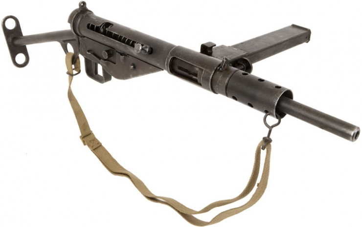 Sten Submachine Gun