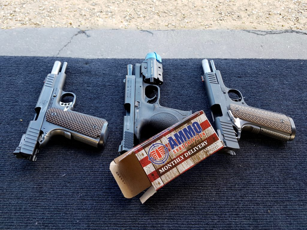 Ammo Subscription Test Pistols