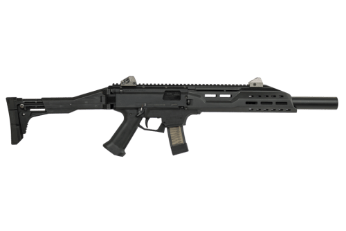 CZ Scorpion Rifle with Fake Suppressor