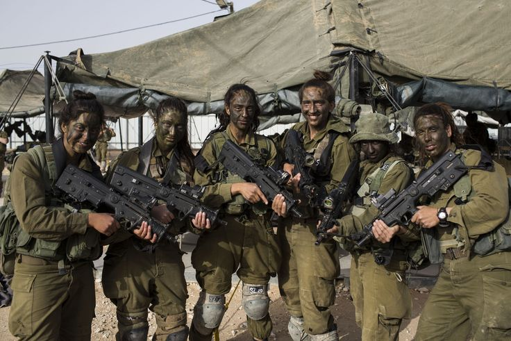 Israeli Forces with Tavor