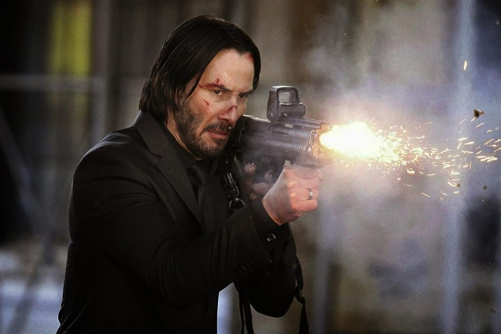 John Wick with KSG Bullpup Shotgun