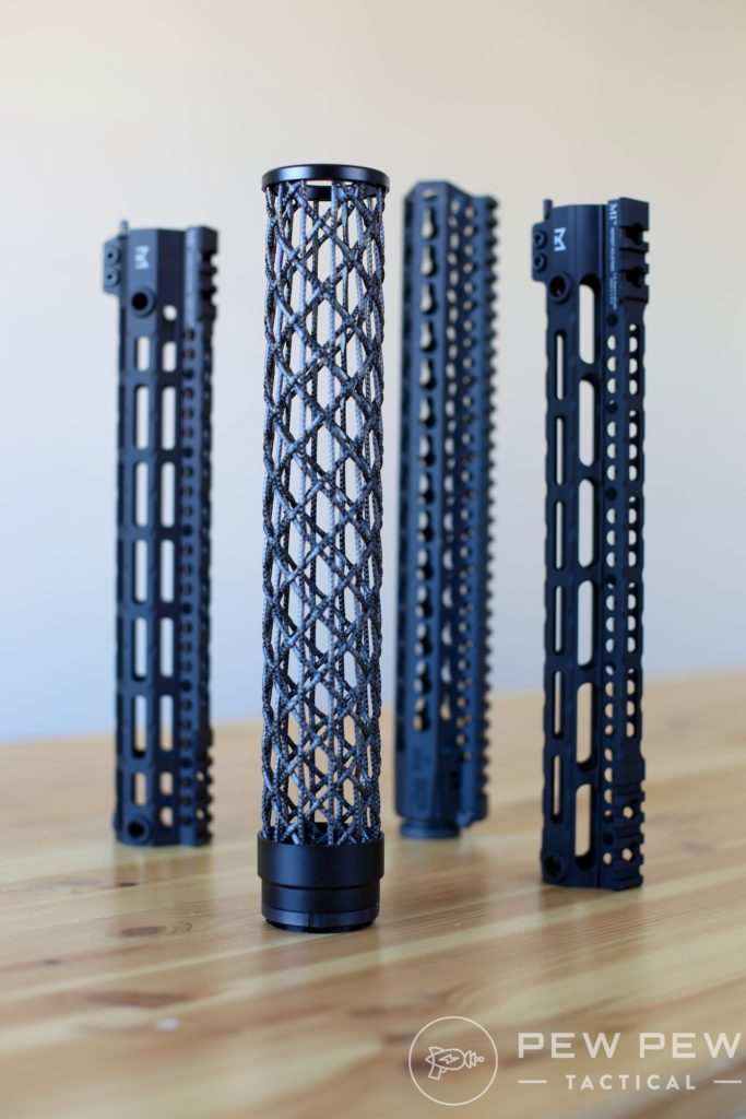 Lightest AR-15 Handguards