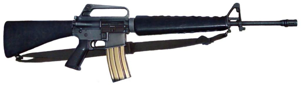 M16 with 2 Point Sling