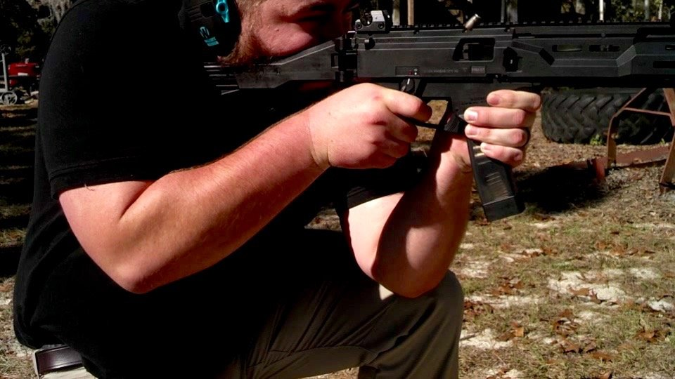 Shooting the CZ Scorpion Carbine