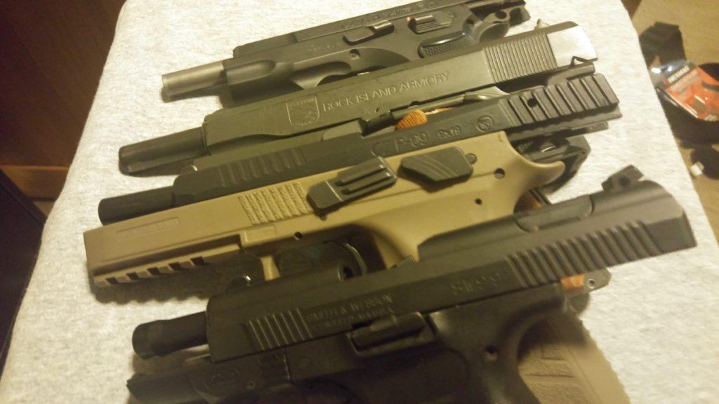 Slide Lock Reload Guns