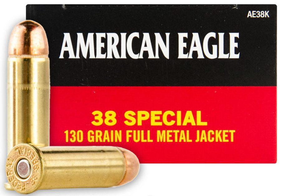 American Eagle .38 Spl 130 Grain FMJ