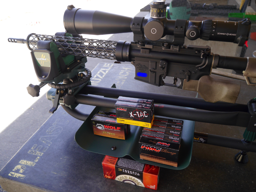 Ammo Testing for Faxon 14.5 Pinned Pencil Barrel