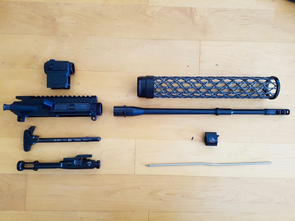 Lightweight Upper Build, Faxon and Brigand Arms