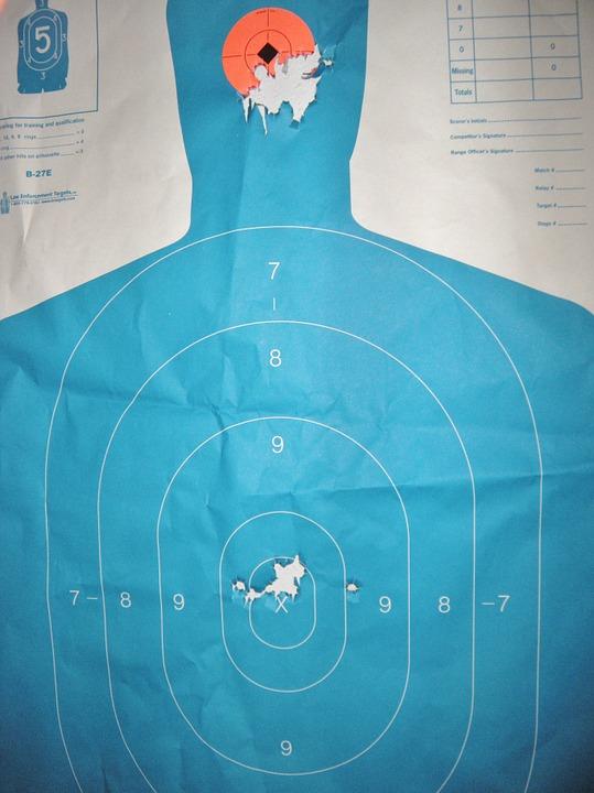 Midlength Shooting Target