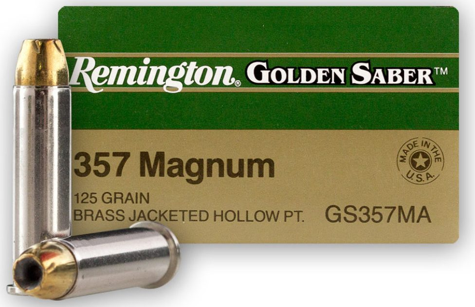 Remington Golden Saber .357 Magnum 125 Grain JHP