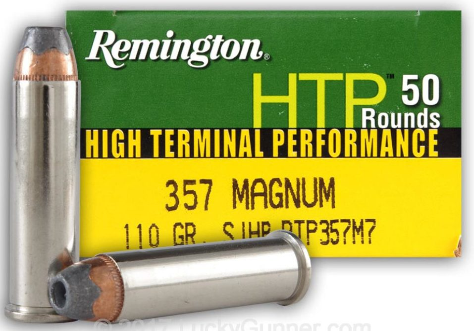 Remington HTP .357 Magnum 110 Grain SJHP