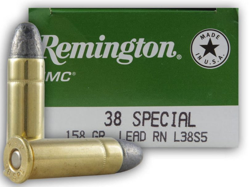 Remington .38 Special 158 Grain LRN