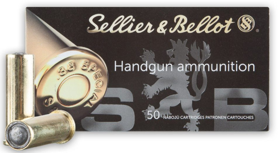 Sellier & Bellot .38 Special 148 Grain WC
