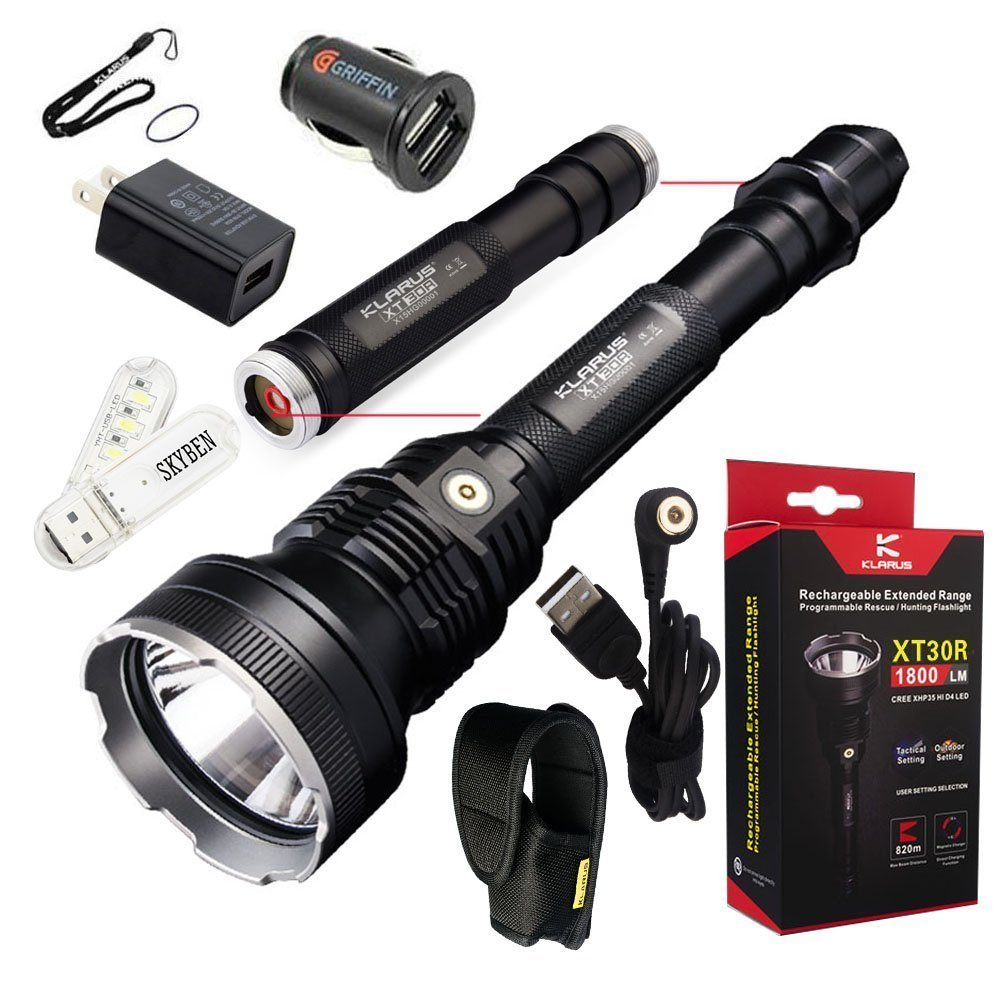 Klarus flashlight bundle