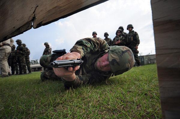 US Navy marksmanship practice