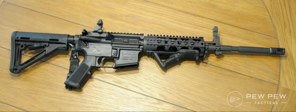 Reassembled AR-15