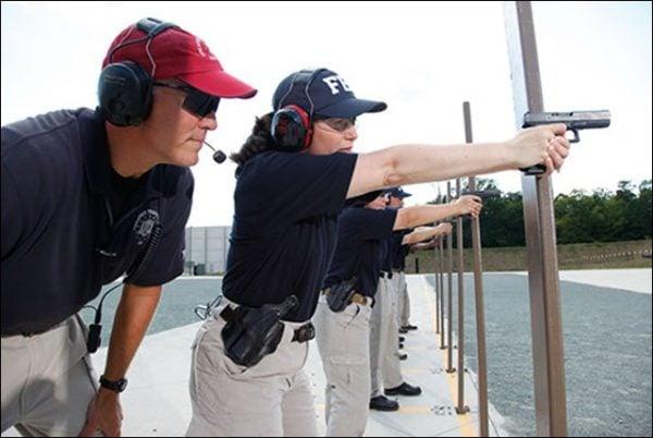 FBI Agents Target Shooting