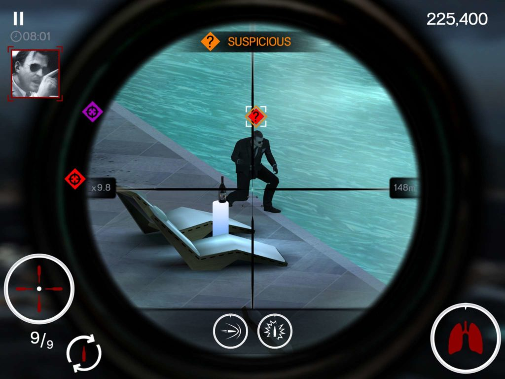 FPS Sniper Reticle