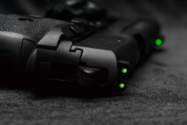 Green Tritium Night Sights