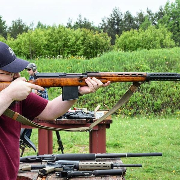Milsurp Rifles at range