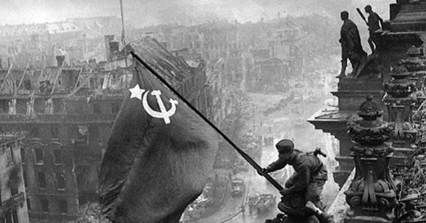 Russians Taking Berlin WWII