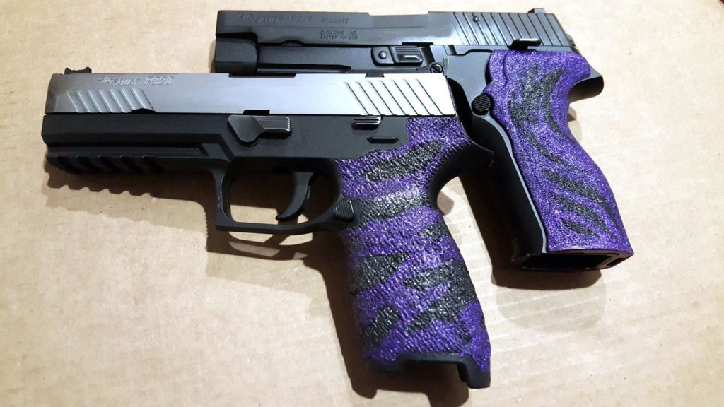 USPSA Production Division Sig Sauer handguns