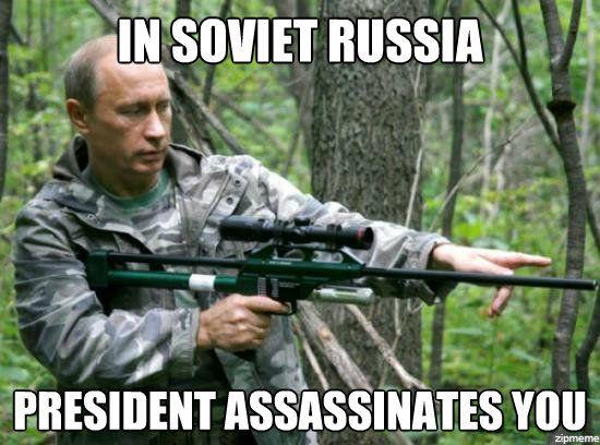 Soviet Russia Putin Meme