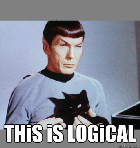 Spock logical meme
