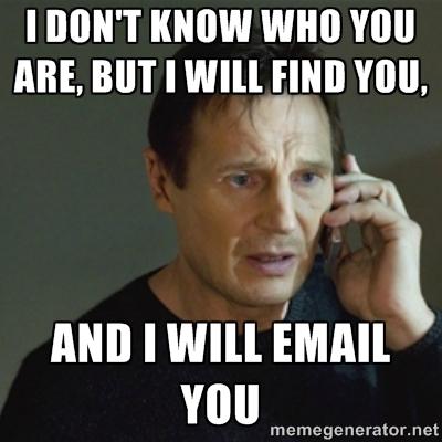 Taken Email