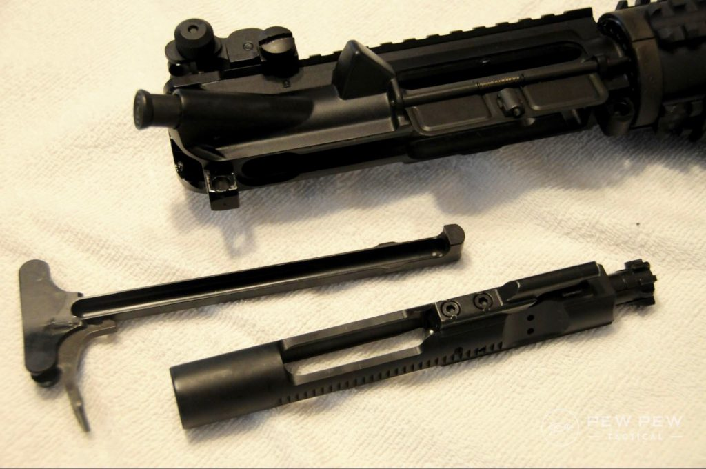 AR15 Charging Handle and BCG